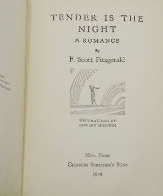 Tender is the Night: A Romance