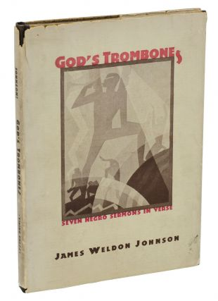 God's Trombones: Seven Negro Sermons in Verse. James Weldon Johnson, James Douglas, C. B. Falls,...