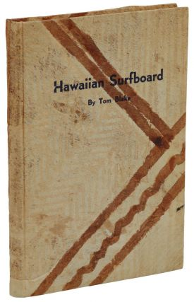 Hawaiian Surfboard. Tom Blake