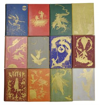 The Fairy Books: Blue, Red, Green, Yellow, Pink, Grey, Violet, Crimson, Brown, Orange, Olive and Lilac