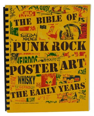 The Bible of Punk Rock Poster Art. Raymond Pettibon