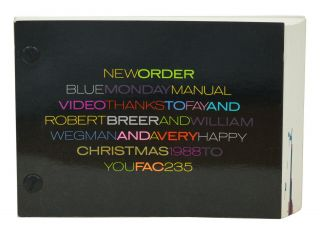 New Order Blue Monday Manual Video Thanks To Fay And Robert Breer And William Wegman And A Very...