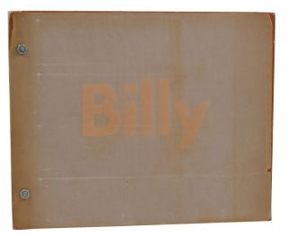 Billy. Edward Ruscha, Billy Al Bengston