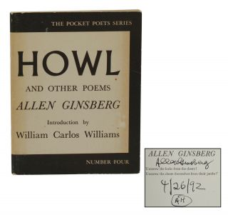 Howl and Other Poems. Allen Ginsberg