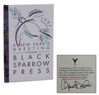 In the Morning and at Night and in Between [A New Year's Greeting from Black Sparrow Press]....