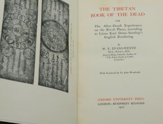 The Tibetan Book of the Dead: or, The After-Death Experiences on the Bardo Plane, According to Lāma Kazi Dawa-Samdup's English Rendering
