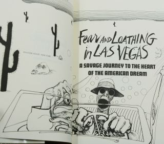 Fear and Loathing in Las Vegas: A Savage Journey into the Heart of the American Dream