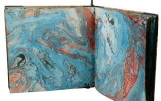 The Art Book of Hand Marbled Papers