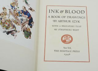 Ink & Blood: A Book of Drawings