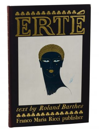 Erte. Roland Barthes, Erte, William Weaver