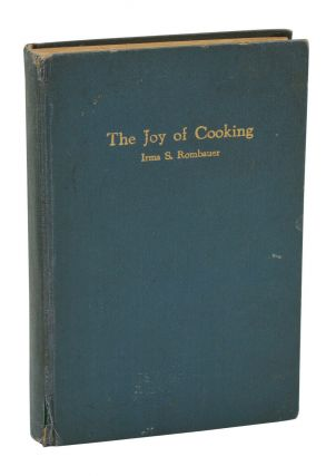 The Joy of Cooking. Irma S. Rombauer