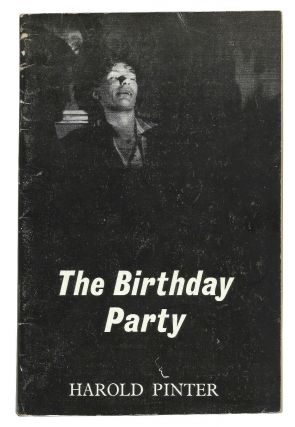 The Birthday Party: A Play in One Act. Harold Pinter