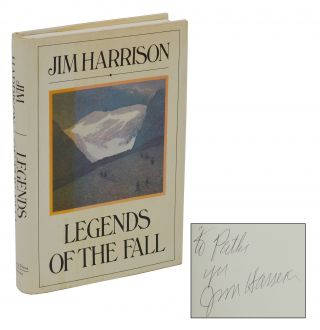 Legends of the Fall. Jim Harrison