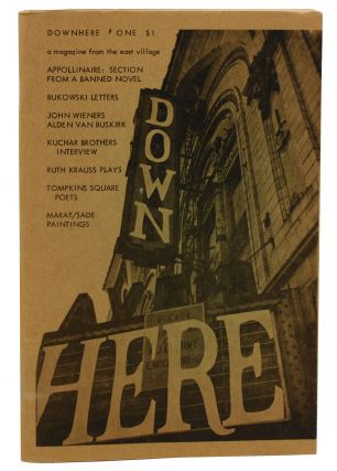 DOWN HERE: A Magazine from the East Village, Volume One Number One. Michael Perkins, Charles...