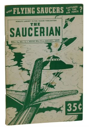 The Saucerian, Vol. 3, No. 1; January 1955. Gray Barker
