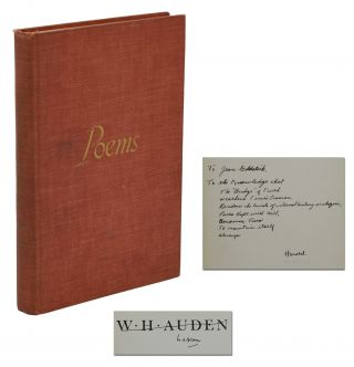 Poems. W. H. Auden, Harold Norse
