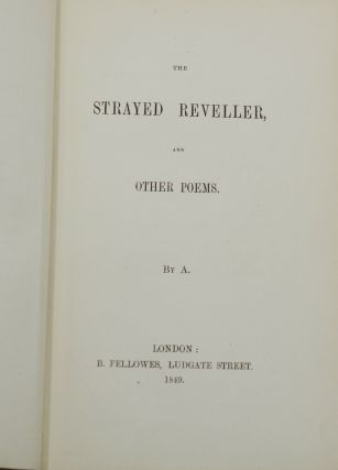 The Strayed Reveller and Other Poems