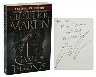 Game of Thrones: Book One of A Song of Ice and Fire. George R. R. Martin