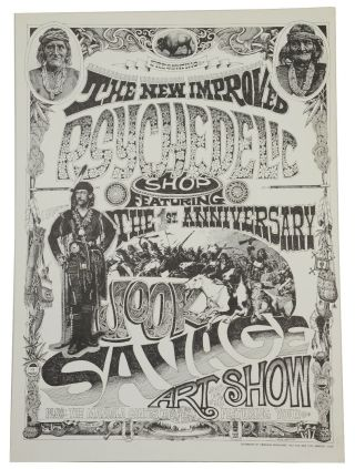 The New Improved Psychedelic Shop Featuring the 1st Anniversary Jook Savage Art Show (Original...