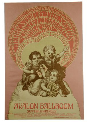 Original poster for Sons of Champlin, the 4th Way, Alexander's Timeless Bloozband, Jerry Steig...
