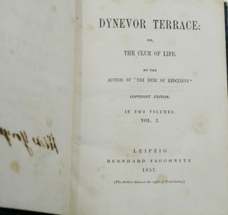 Dynevor Terrace: or, The Clue of Life