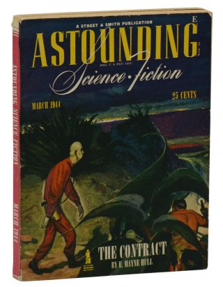 """Deadline"" in Astounding Science Fiction, March 1944, Vol. XXXII, No. 1. Cleve Cartmill, John..."