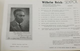 Wilhelm Reich: SEXPOL (Selected Sexpol Writings: 1934-37. Articles from the 'Zeitscrift fur Politische Psychologie und Sexualoekonomie')