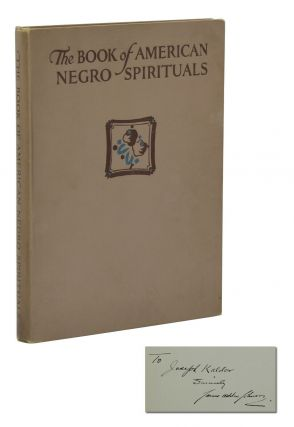 The Book of American Negro Spirituals. James Weldon Johnson