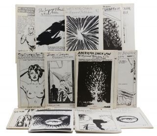 A collection of 21 artist's books by Raymond Pettibon. Raymond Pettibon, Nelson Tarpenny, David...