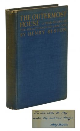 The Outermost House: A Year of Life on the Great Beach of Cape Cod. Henry Beston