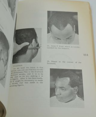 The Principles of Cutting and Styling Negro Hair