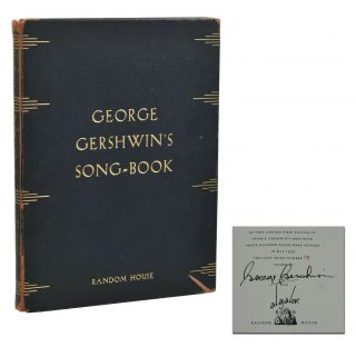 George Gershwin's Song-Book. George Gershwin, Alajalov, Illustrations