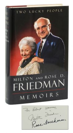 Two Lucky People. Milton Friedman, Rose Freidman