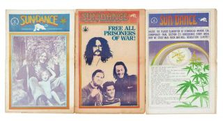 Sun/Dance: White Panther Information Service (Complete run in three issues). White Panther...