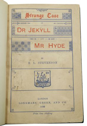 Strange Case of Dr. Jekyll and Mr. Hyde. Robert Louis Stevenson