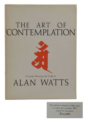 The Art of Contemplation. Alan Watts