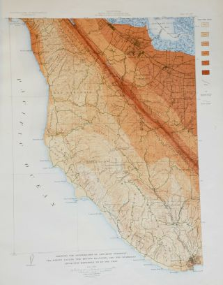 Atlas of Maps and Seismograms Accompanying the Report of the State Earthquake Investigation Commission Upon the California Earthquake of April 18, 1906