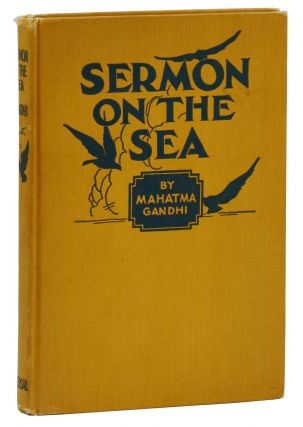 Sermon on the Sea. Mahatma Gandhi, John Haynes Holmes, Haridas T. Muzumdar, Introduction