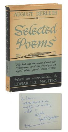 Selected Poems. August Derleth, Edgar Lee Masters, Introduction
