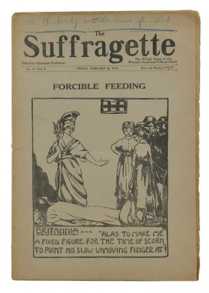 The Suffragette: The Official Organ of the Women's Social and Political Union. Issue No. 71, Vol....