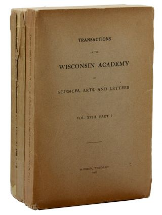 """Legends of Paul Bunyan, Lumberjack"" in Transactions of the Wisconsin Academy of Sciences, Arts,..."
