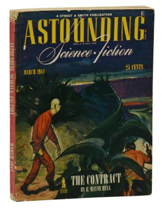 """Deadline"" in Astounding Science Fiction, March 1944. Cleve Cartmill"