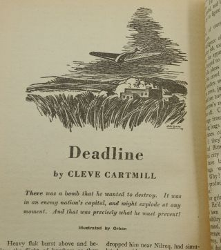 """Deadline"" in Astounding Science Fiction, March 1944"