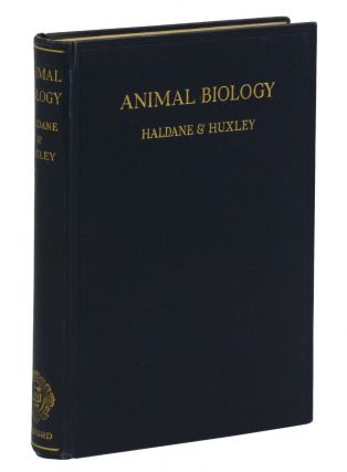 Animal Biology. J. B. S. Haldane, Julian Huxley