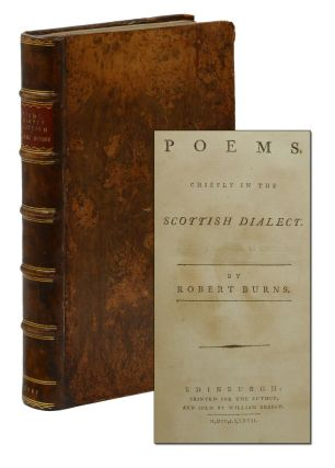Poems Chiefly in the Scottish Dialect. Robert Burns