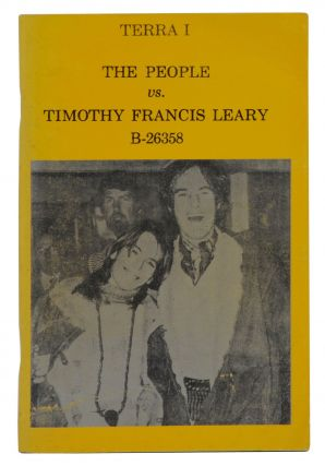 Terra I: The People vs. Timothy Francis Leary B-26358. Timothy Leary, Joanna Leary
