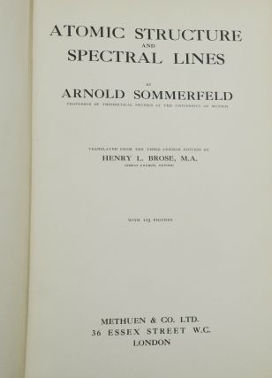 Atomic Structure and Spectral Lines