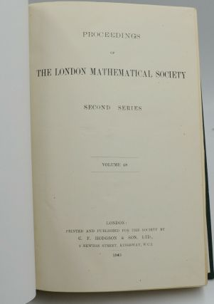A Method for the Calculation of the Zeta-Function [In] Proceedings of the London Mathematical Society Second Series. Volume 48