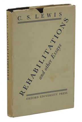 Rehabilitations and Other Essays. C. S. Lewis
