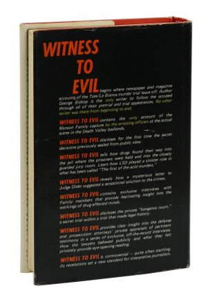 Witness to Evil: The Inside Story of the Tate/La Bianca Murder Trial